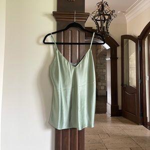 Sablyn Mint Camisole 100% Silk…Size Medium